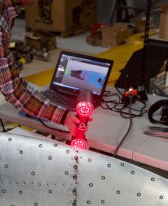 Designer King Air 3D Scanning