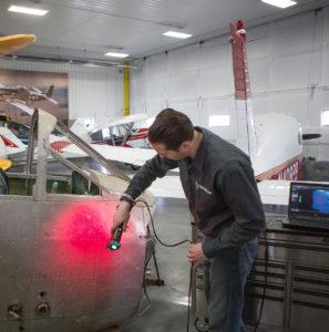 3D Reverse Engineering Scan Airplane
