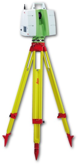 Leica Geosystems time of flight scanner